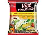 Viet Rice noodles soup Instant Pho Gà Reisnudeln mit Huhngeschmack, 5er Pack (5 x 65g)