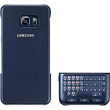 Samsung Key Board Cover - Funda con teclado para Galaxy S6 Edge Plus, color negro