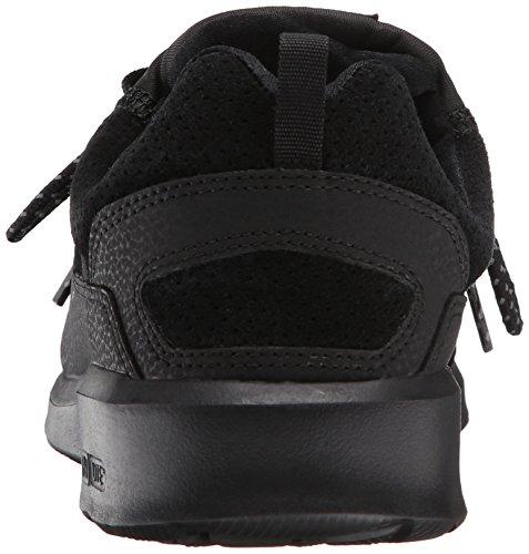 DC - - Uomo-heathrow Presti Low Top senza tempo a forma di scarpa Black/Battleship/Black