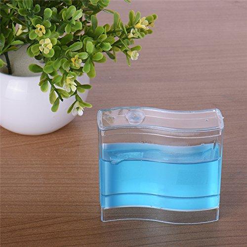 TAONMEISU™ Labyrinthe Acrylique Vivarium Fourmis Gel Nutritif en Bleu Habitat de Fourmis Taille S