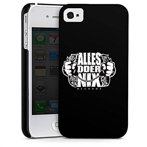 Apple iPhone X Silikon Hülle Case Schutzhülle Xatar Fanartikel Merchandise Alles Oder Nix Premium Case glänzend