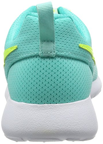 Nike Roshe One (Gs), Chaussures de Course Femme Turquesa (Hyper Turq / Volt-Clear Jade-White)