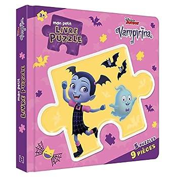 VAMPIRINA - Mon Petit Livre Puzzle - 5 Puzzles 9 Pièces - Disney