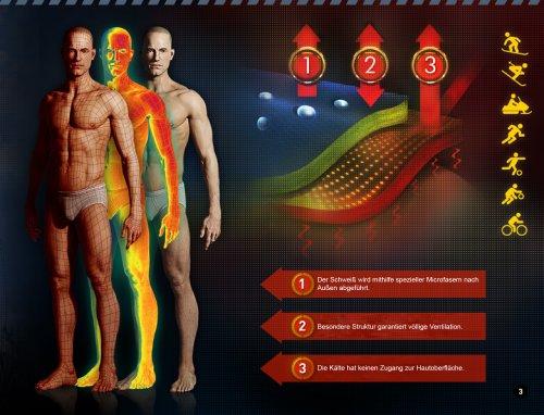 Gatta Leggings Sportivi per Uomo Duo Grigiore