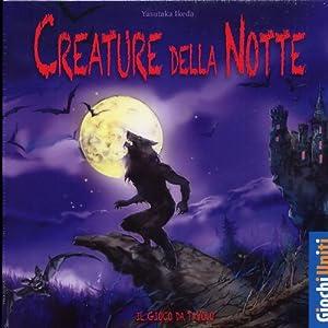 Giochi Uniti Creature Della Notte - Juego de Mesa (versión en Italiano) Importado de Italia