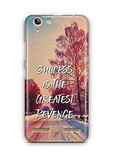 YuBingo Success is the Greatest Revenge Designer Mobile Case Back Cover for Lenovo Vibe K5 Plus