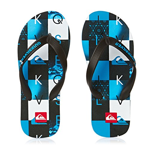 Quiksilver Molokai Checkmate Youth Jungen Zehentrenner Azul