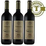 Rotwein Italien Merlot trocken (3 x 0,75l)