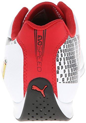Lo Puma 3 Ferrari Evospeed Sneaker White Corsa 1 rosso Fashion twqqSCO