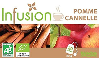 Infusion Pomme-cannelle Bio 20 Sachets Biotechnie