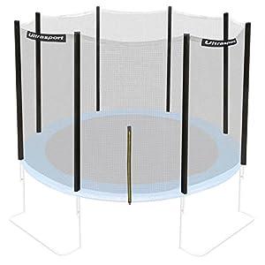 Ultrasport Trampolin-/Sicherheitsnetz für Gartentrampoline, kompatibel mit Jumper Modell, Trampolin-Zubehör, Ersatznetz, mit Reißverschluss, UV-beständig, Netzhöhe ca. 180 cm