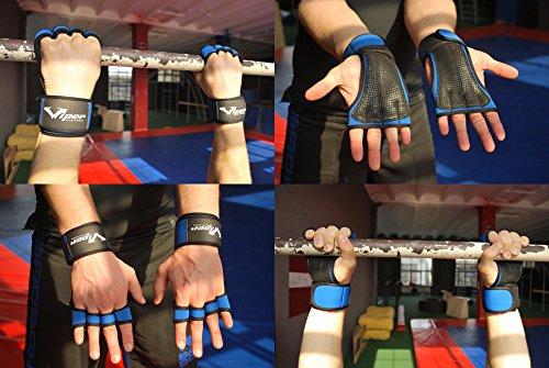 Guanti Crossfit Paracalli per Palestra e Sollevamento Pesi Perfetti per Trazioni Alla Sbarra, Calisthenics, Ginnastica Artistica, Bodybuilding,