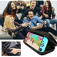 chora Estuche portátil para Nintendo Switch Estuche Protector Estuche de Viaje portátil con Juegos láser Soporte para interruptores Consola Joy-con y Otros Accesorios Top Sale