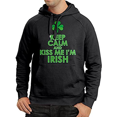 Hoodie Kiss me I'm Irish, Saint Patrick day jokes quotes