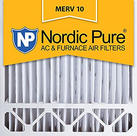 Nordic Pure 20x20x5, MERV 10, Honeywell Replacement Air Filter, Box of 1 by Nordic Pure