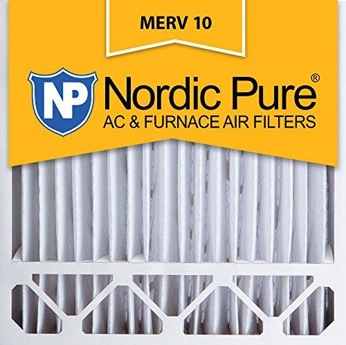 Nordic Pure 20x 20x 5, Merv 10, Lennox Ersatz-Luftfilter, Box von 1 (Elektrostatische Luftfilter)