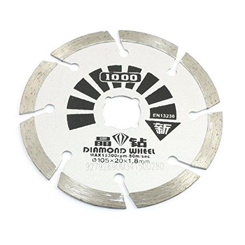 Metall-Ziegel Stein Diamant-Rad-Trennscheibe Sägeblatt 105x20x1.8mm