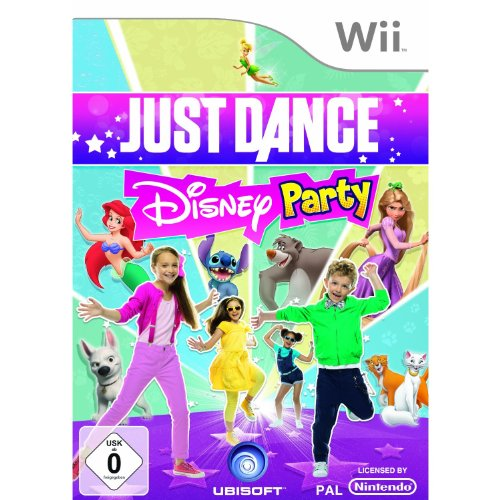 Just Dance Disney Party (Dance 2 Just Wii Nintendo)