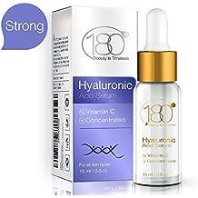 OFERTAS DEL DÍA - 180 Cosmetics - EL MEJOR suero de ácido hialurónico + vitamina C - La mayor concentración de ácido hialurónico en la línea de cuidado de ...