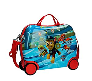 4771051 Trolley bagaglio a mano rigido cavalcabile Paw Patrol 41 x 34 x 20 cm. MEDIA WAVE store