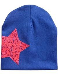 Sanwood Bonnet pour enfant Motif étoile Bonnet d'hiver