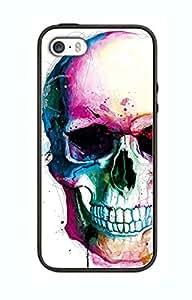 Case Schutzrahmen hülse Skull Ghost Art SK10 Abdeckung für Ipad Air Border Gummi Silikon Tasche Schwarz @pattayamart