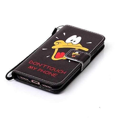 Apple iphone 7 case XFAY HX-439 Portafoglio accessories elegante Bookstyle PU Pelle Case Cover Protettiva Flip Portafoglio Custodia Protezione Caso con Supporto di Stand / Carte Slot / Chiusura/ libro colore-25
