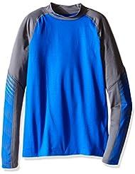 Under Armour Cg Mock-Camiseta de protección térmica para niño Ultra azul FR: XL (talla fabricante: YXL)