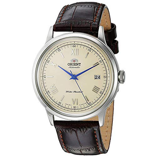 Orient Mens Analogue Automatic Watch with Leather Strap FAC00009N0