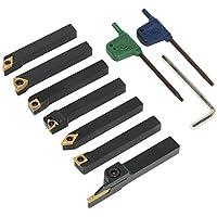 Sealey SM3025CS6 indexable torno de 10 mm conjunto de herramientas de inflexión 7pc