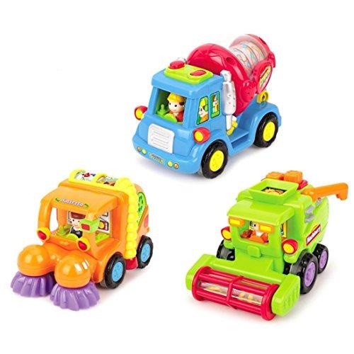 Powered Auto Spielzeug für Kleinkind Jungen unter 3 Jahren, 3er Set (Genial-spielzeug Für Kinder)