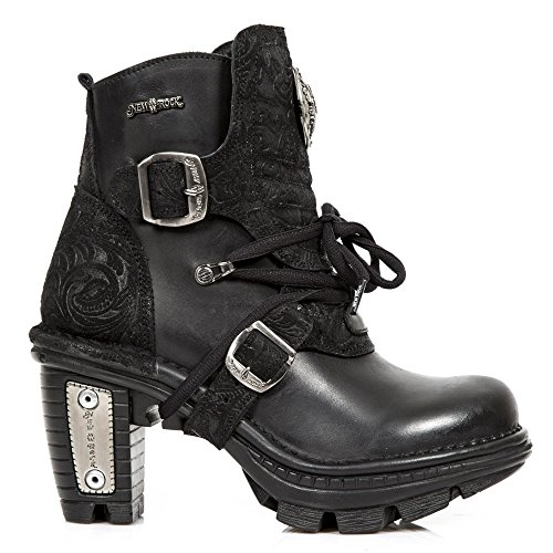 New Rock Womens M TR061 Neo Trail Gothic Leather Boots