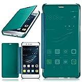 MoEx Huawei P9 Lite | Hülle Transparent TPU [OneFlow Void Cover] Dünne Schutzhülle Türkis Handyhülle für Huawei P9 Lite / G9 / G9 Lite Case Ultra-Slim Handy-Tasche mit Sicht-Fenster