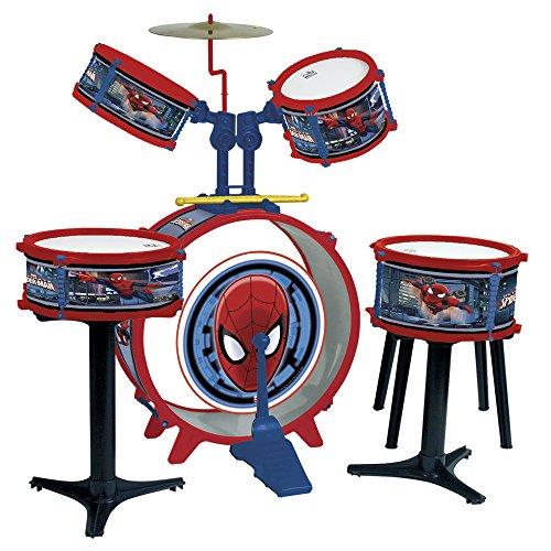 Image of Reig Spiderman Drum kit 5-Piece