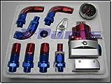 Benzindruckregler mit Manometer 7MGTE Stahlflex Leitung