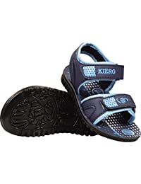 Kiero Bruno -1 Kid's Sandal/Floater's (UK 10, Blue/Sky Blue)