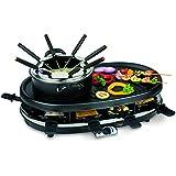 1800 watts 4 en 1 multi de fonction appareil Grill fondue raclette gourmet Trebs 99322