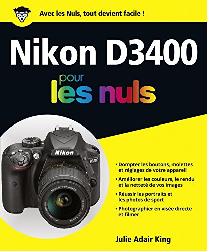 Nikon D3400 pour les Nuls grand format par Julie ADAIR KING