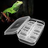 GOZAR 12 Reptilien Eier Inkubator Fach Gecko Schlange Vogel Amphibien Schlüpfen Fall Zucht Werkzeuge Box