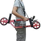 Teklife Kick Scooter Shoulder Carrying Strap Foldable Scooter Shoulder Carrier - No Kick Scooter