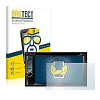 2x BROTECT Screen Protector Kenwood DDX5015DAB Protector - Crystal-Clear, Anti-Fingerprint