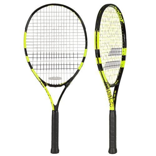 Babolat Nadal Jr 26 Raquetas de tenis, Unisex niños, Negro / Amarillo, 0