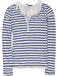 Maison Scotch 2 In One Long Sleeve Grandad T-Shirt