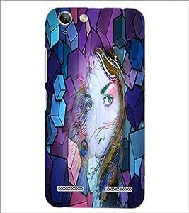 PrintDhaba Fantasy Girl D-2903 Back Case Cover for LENOVO VIBE K5 PLUS (Multi-Coloured)