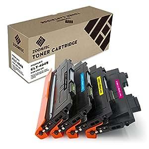 ZOOMTEC 4 Cartucce toner compatibili per Samsung CLT-P404C (CLT-K404S CLT-C404S CLT-M404S CLT-Y404S) Xpress SL C480FW C480FN C480W C480 C430W C430
