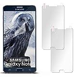 2X Samsung Galaxy Note 5 | Schutzfolie Matt Display Schutz [Anti-Reflex] Screen Protector Fingerprint Handy-Folie Matte Displayschutz-Folie für Samsung Galaxy Note 5 Displayfolie