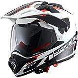 Astone Helmets Adventure-Tourer, Auriculares, color Blanco, talla XL