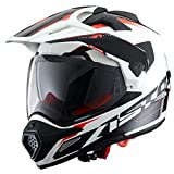 Astone Helmets Adventure-Tourer, Auriculares, color Blanco, talla M