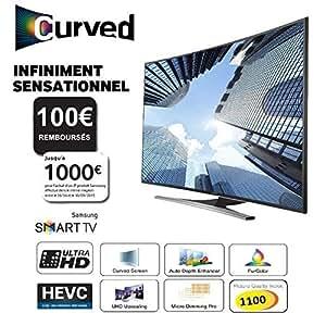 SAMSUNG UE48JU6500 Smart TV UHD 4K Curved 121m