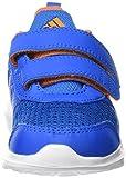 adidas Unisex Baby Hyperfast 2.0 CF I Sneakers, Azul (Azuimp / Ftwbla / Naruni), 26 EU - 4
